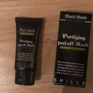 Facial black mask